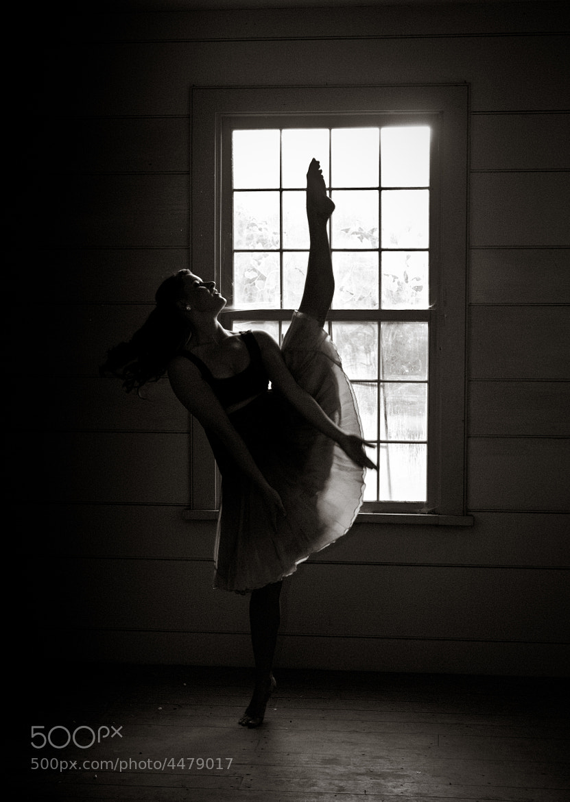 Photograph Ballet Silhouette by Garrett Gibbons on 500px