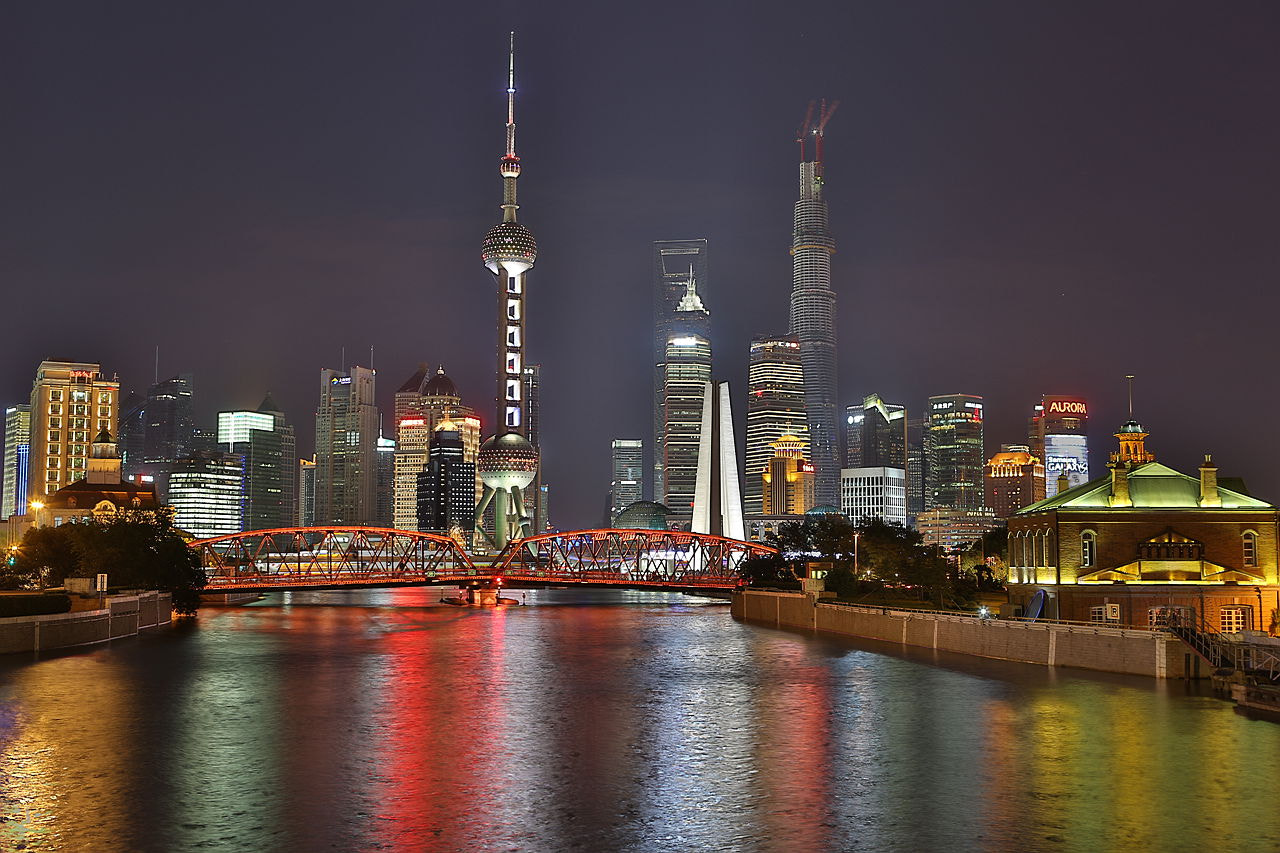 Photograph Shanghai Night by Ben Old Chen  on 500px