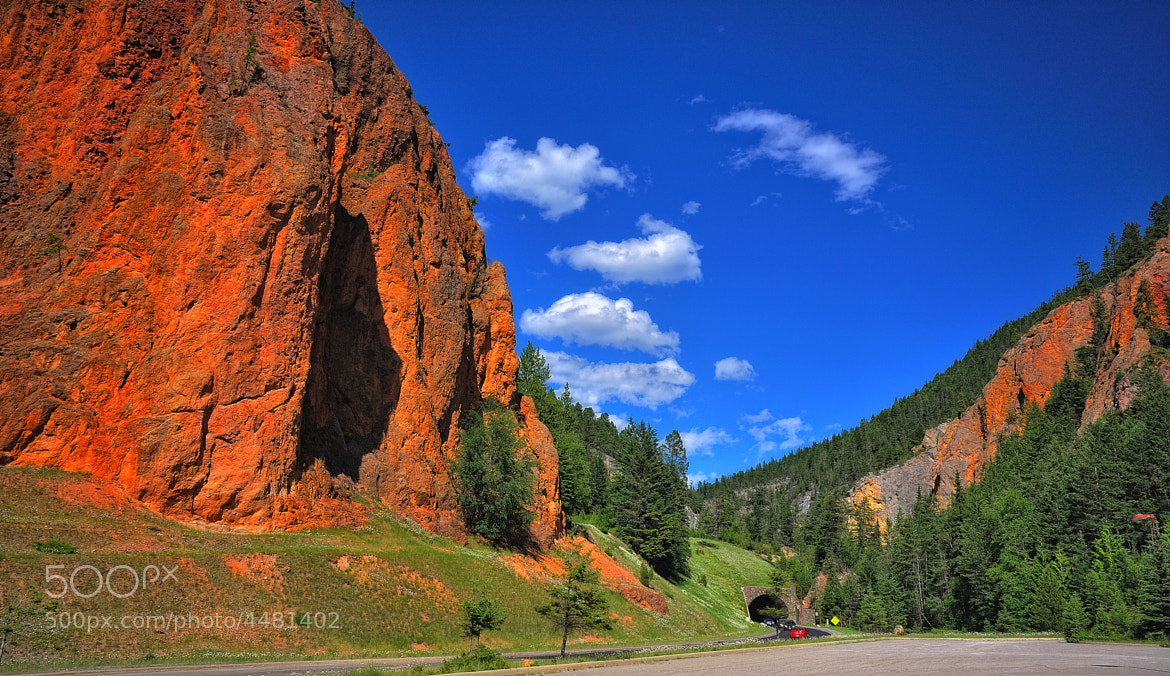 Photograph Red Clay Cliffs by Mark Stevens on 500px