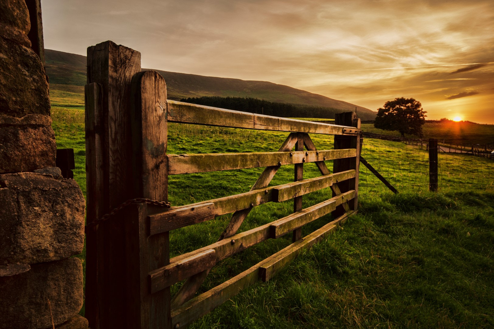Photograph Up in the Hills by Darren Chadwick on 500px