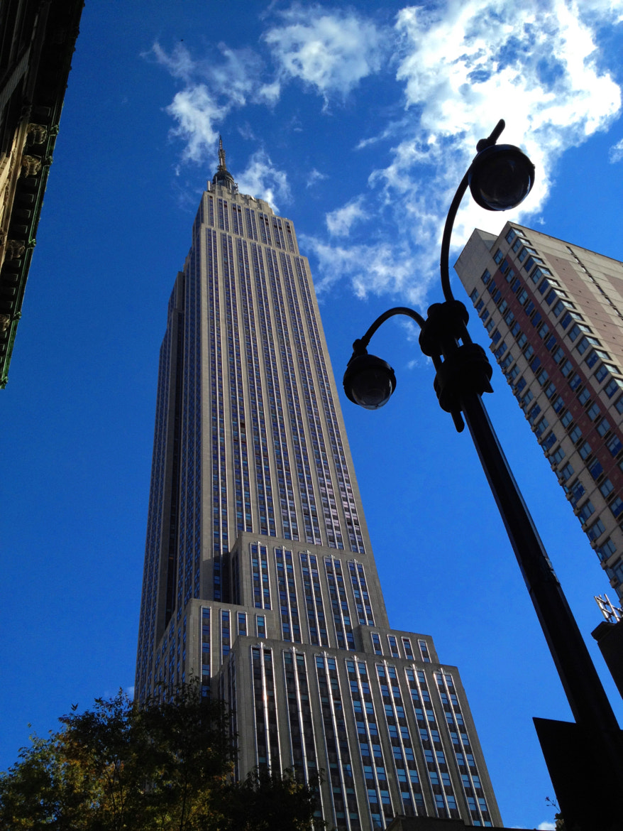 Photograph The Empire State Building (ESB) - New York City - (iPhone 4S) by Michael FRANCHITTI on 500px
