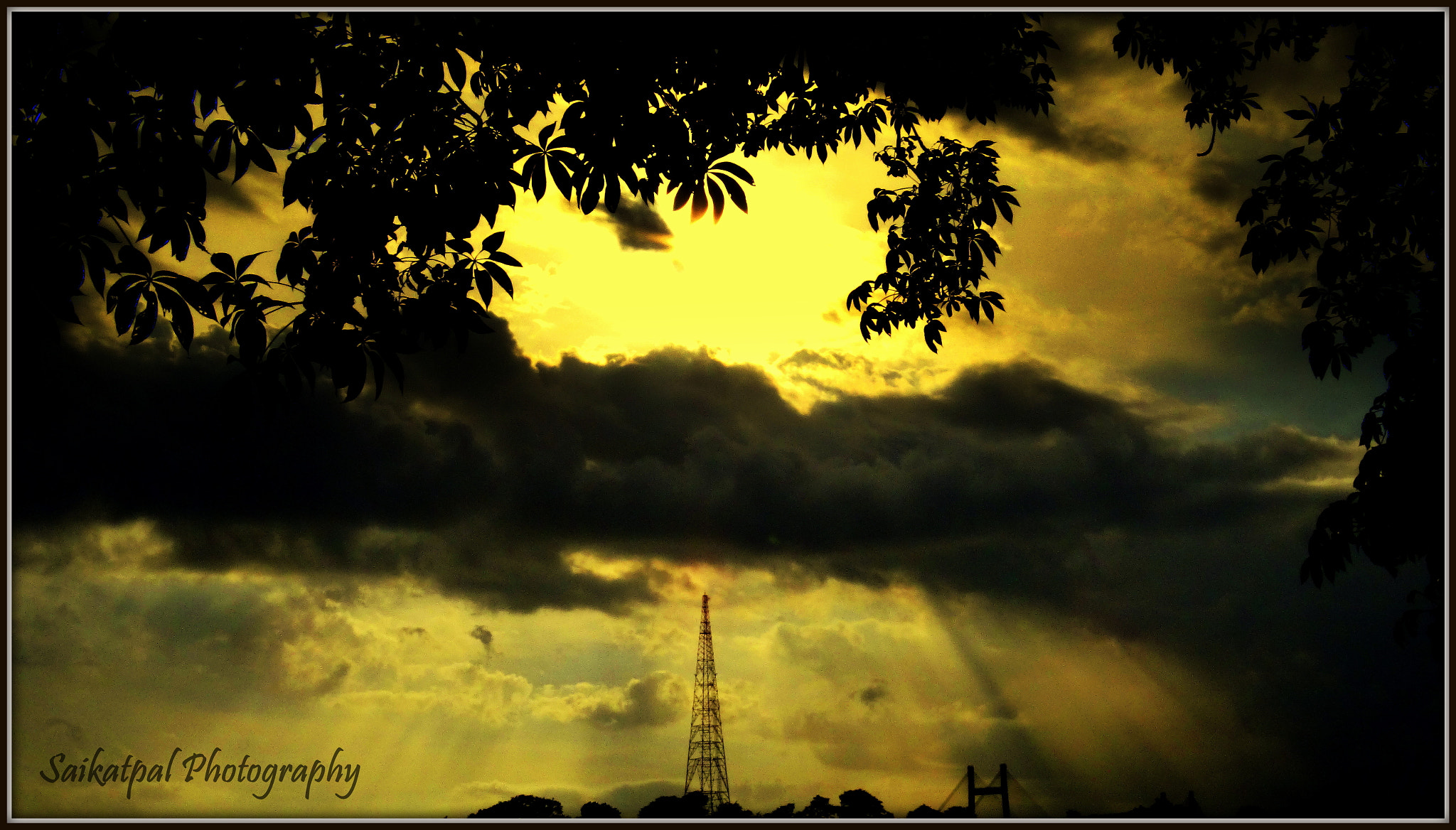 "Photograph ""The golden sky"" by Saikat Pal on 500px"