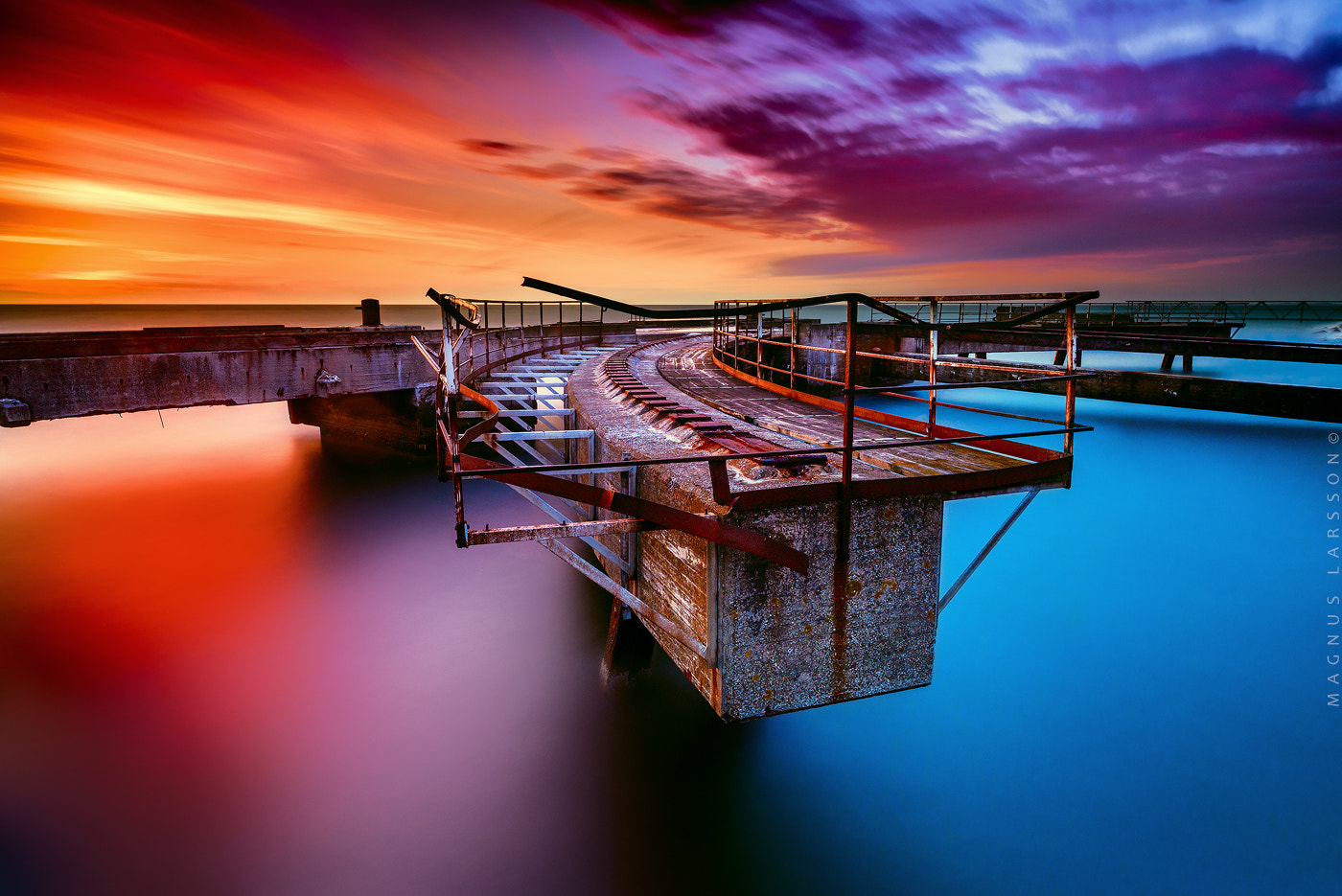 Photograph Concrete stuff in the water. by Magnus Larsson on 500px