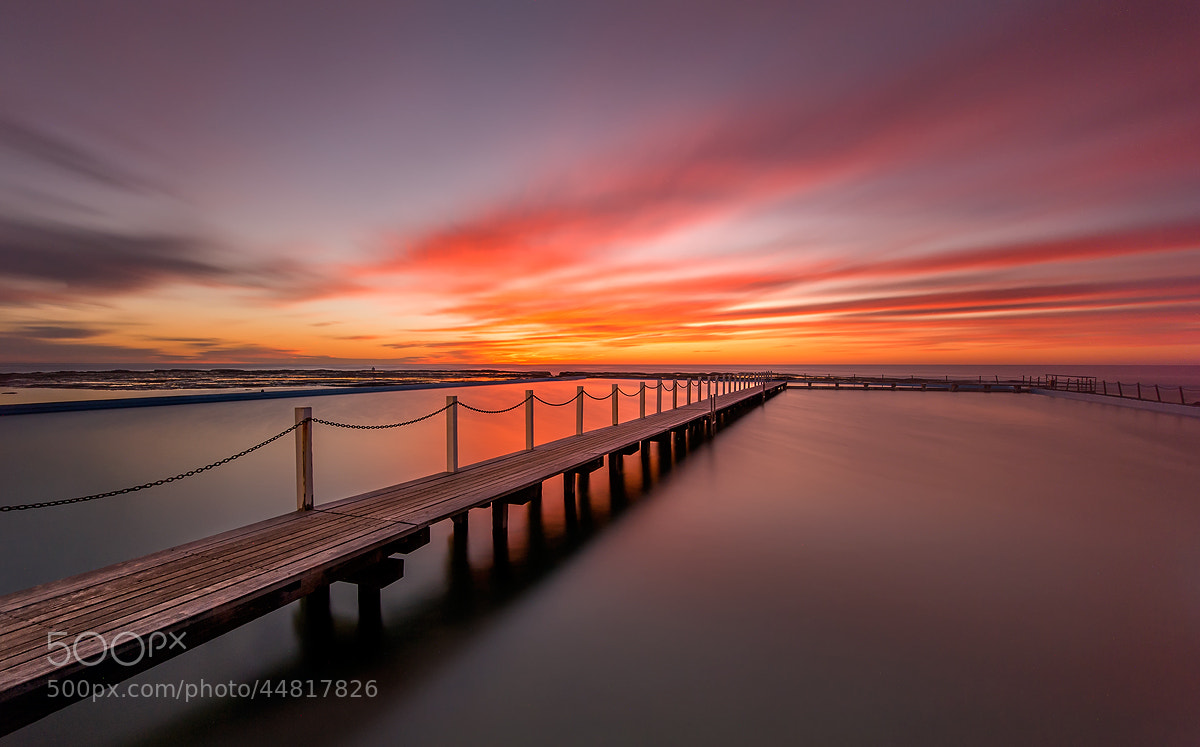 Photograph Narrabeen pool by Chef'John  on 500px