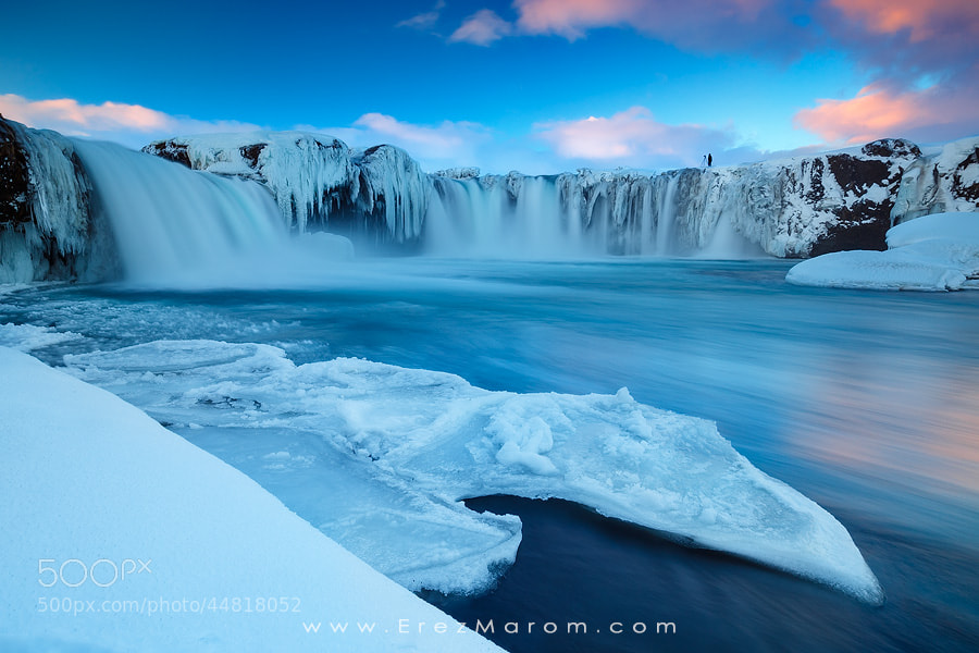 Photograph Shooting Goðafoss by Erez Marom on 500px