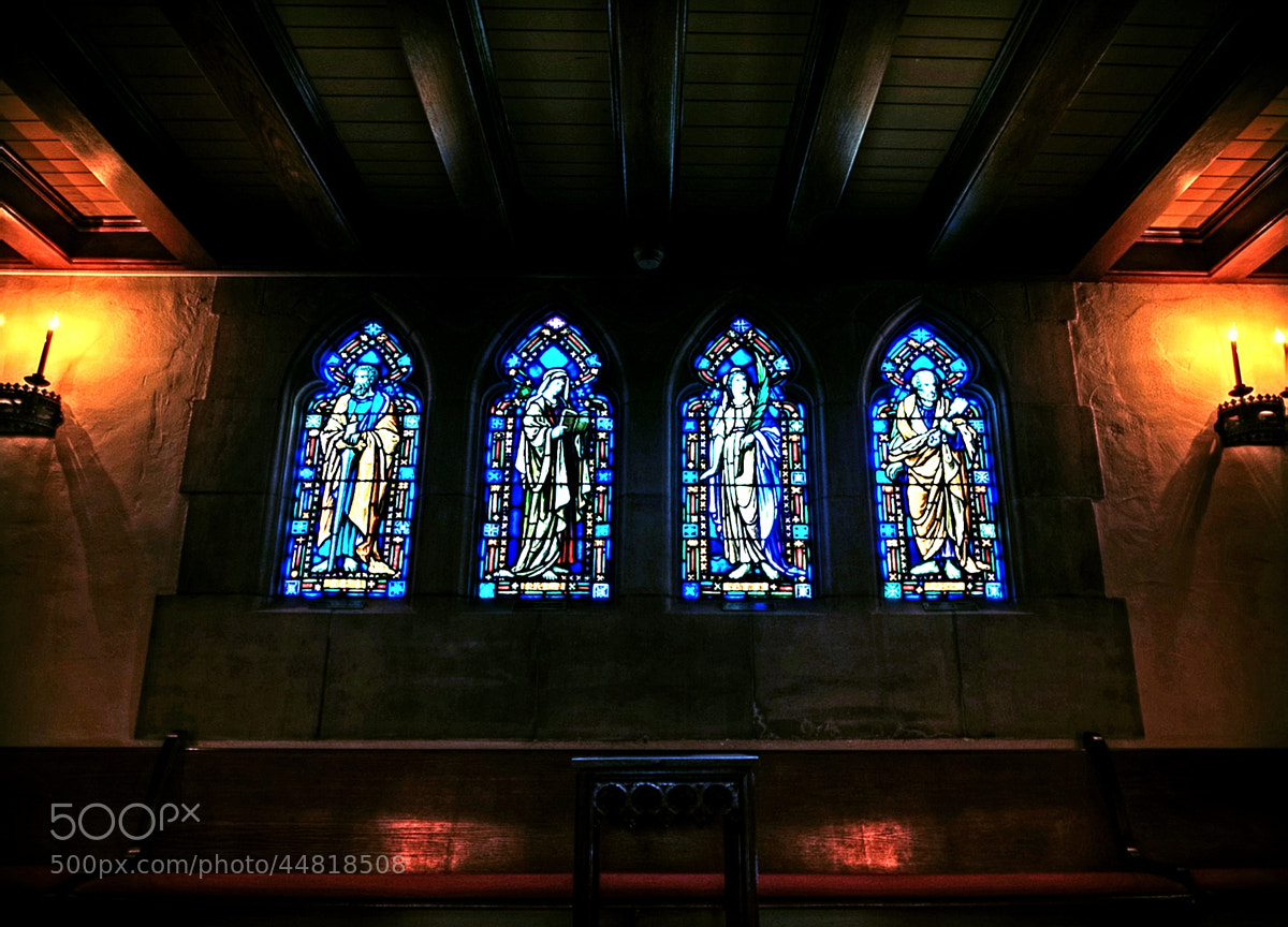 Photograph Chapel HDR by Shane Lund on 500px