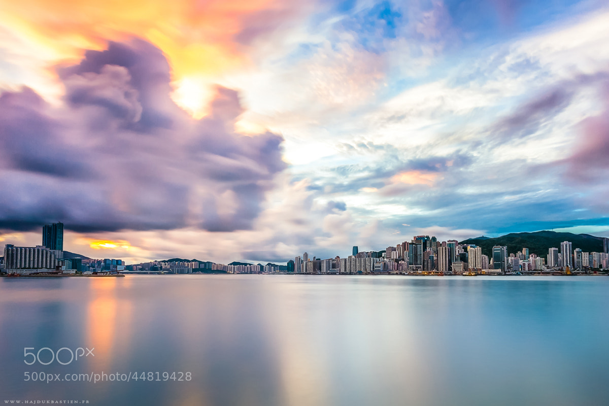 Photograph HK in colored world by Bastien HAJDUK on 500px