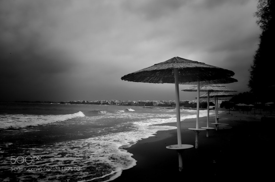 Photograph A lonely beach by Yulia R on 500px
