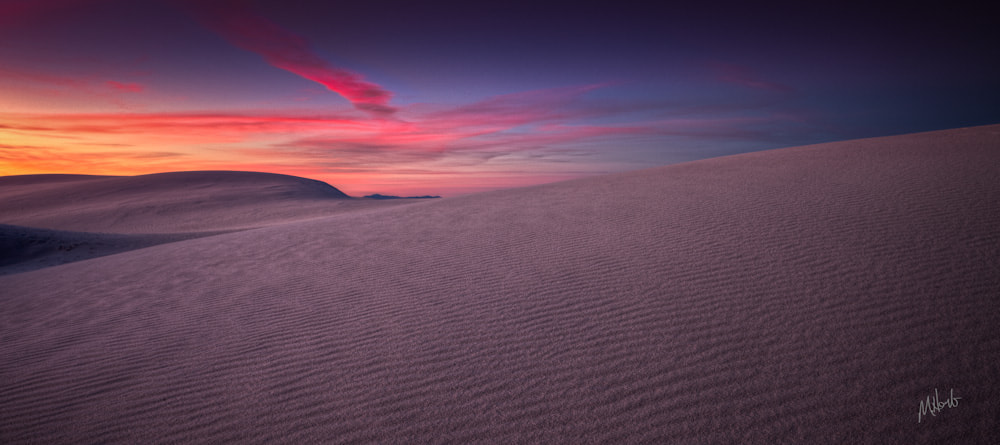 Photograph Sunset at White Sands by Michael Herb on 500px