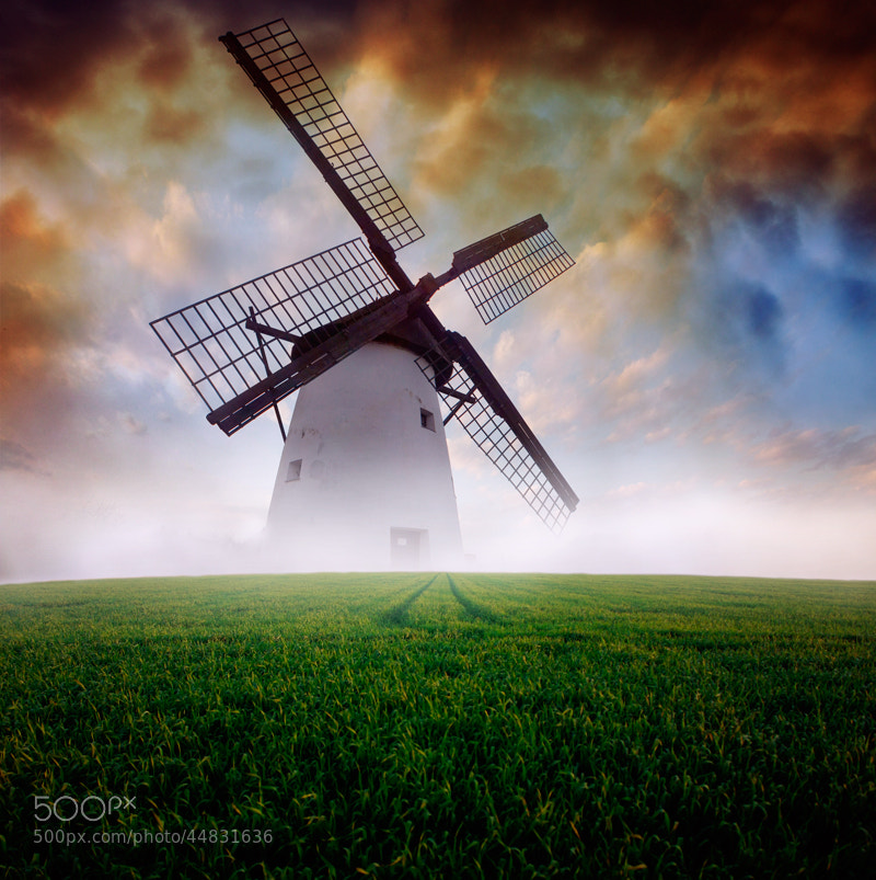 Photograph Wind mill... by Heaven Man on 500px