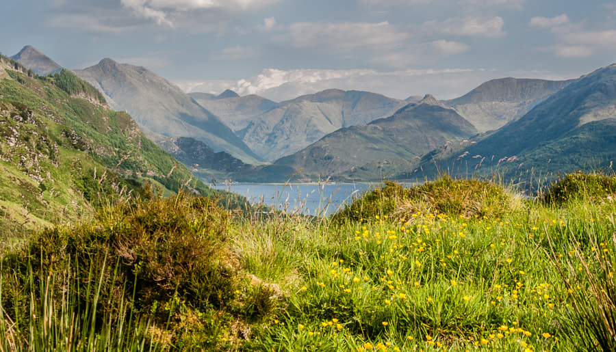 Loch Duich and The Kintail Mountains