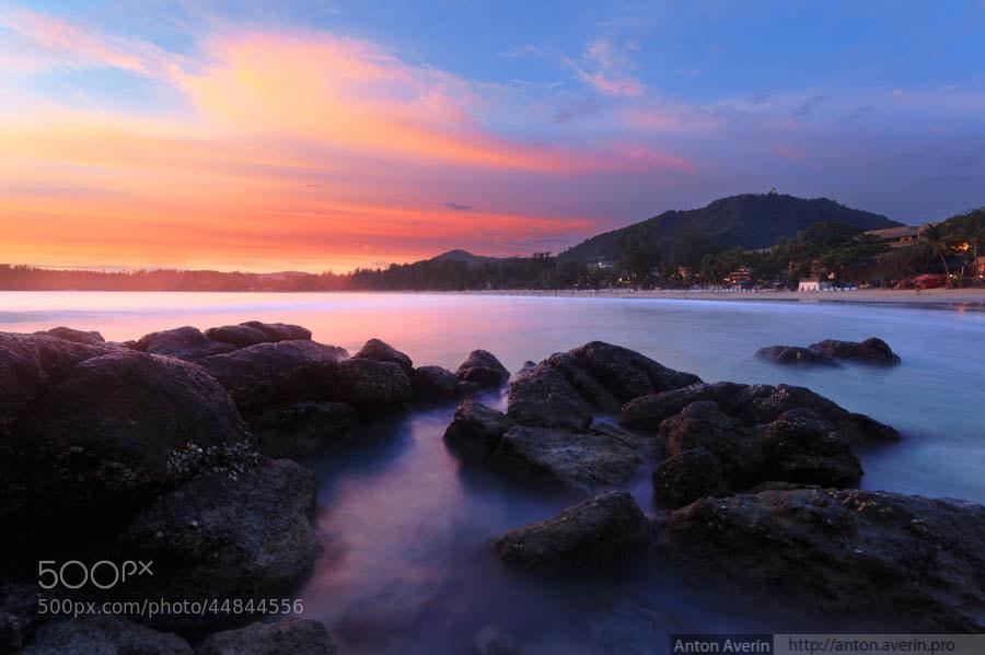 Photograph Sunset at Kata beach by Anton Averin on 500px