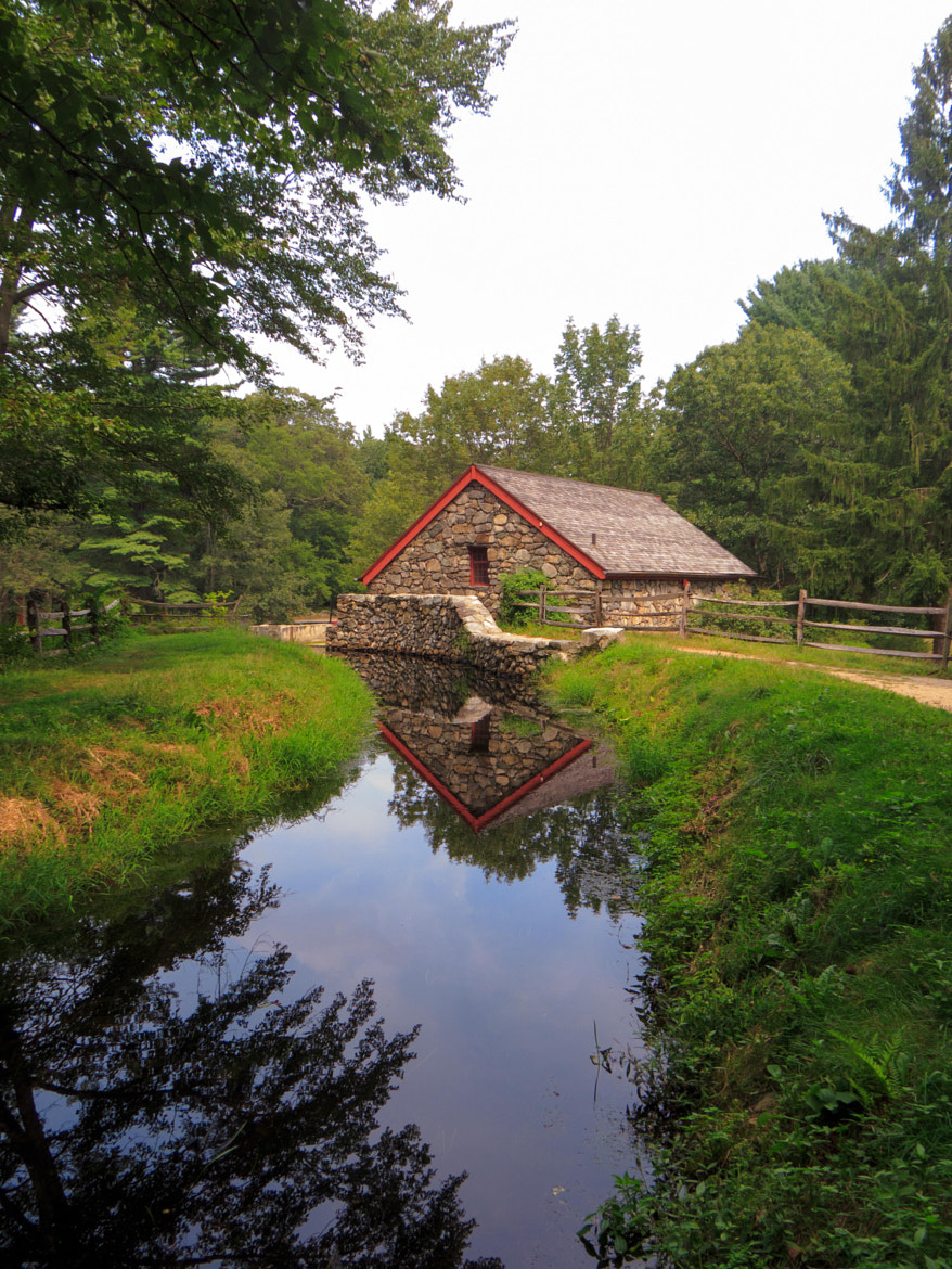 Photograph Reflections at the Mill by Amy Hoey on 500px