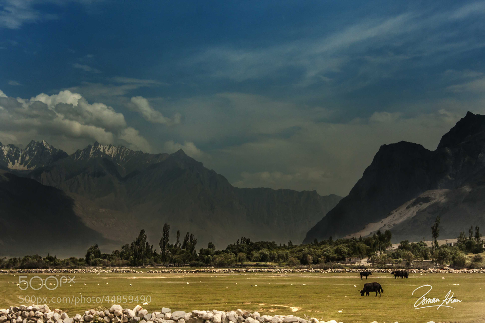 Photograph Rolling Skies by Usman Khan on 500px