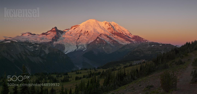 Photograph Mount Rainier Dawn by Ken Vensel on 500px