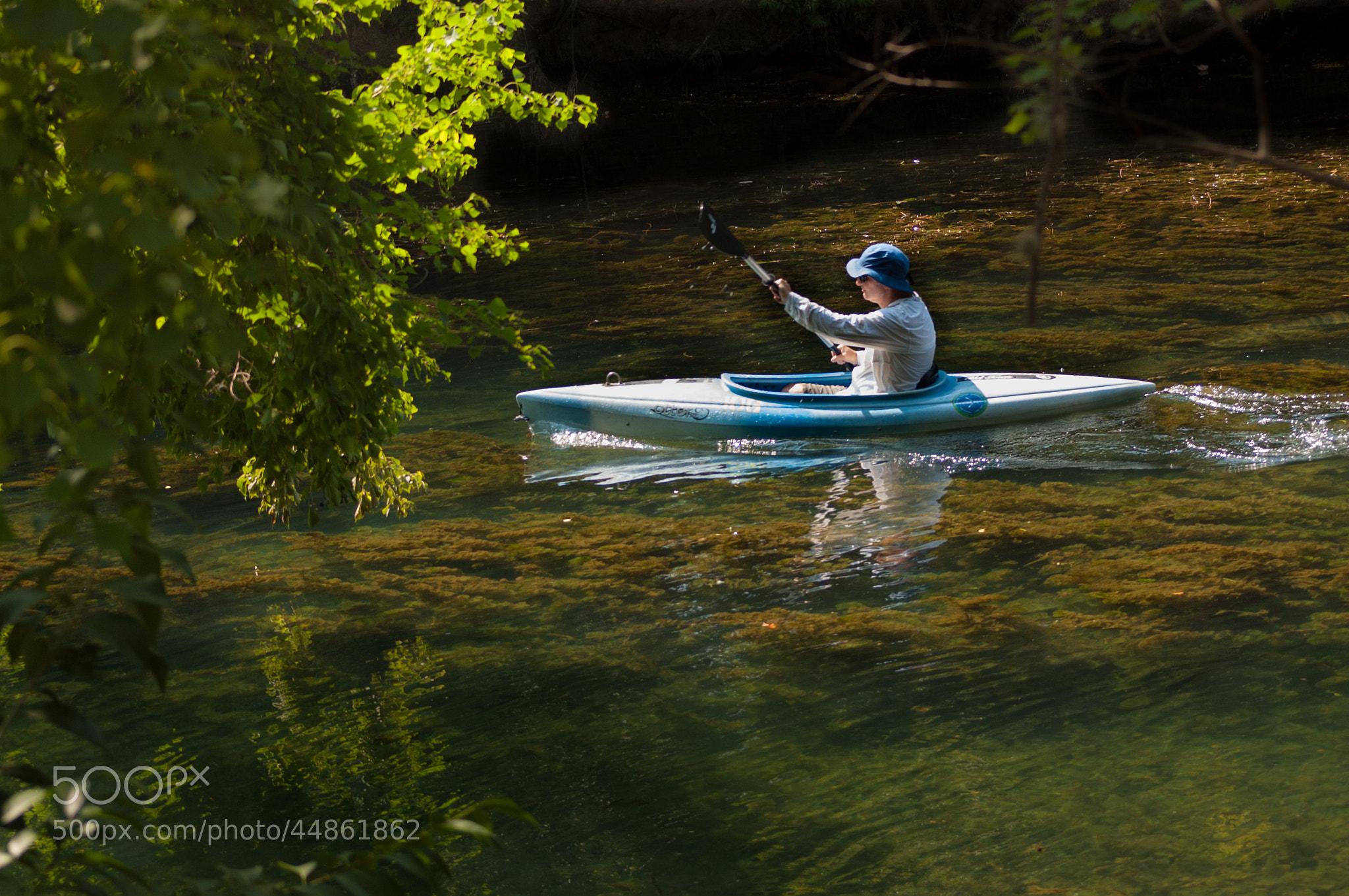 Photograph Canoeing at Barton Creek by Pratik  on 500px