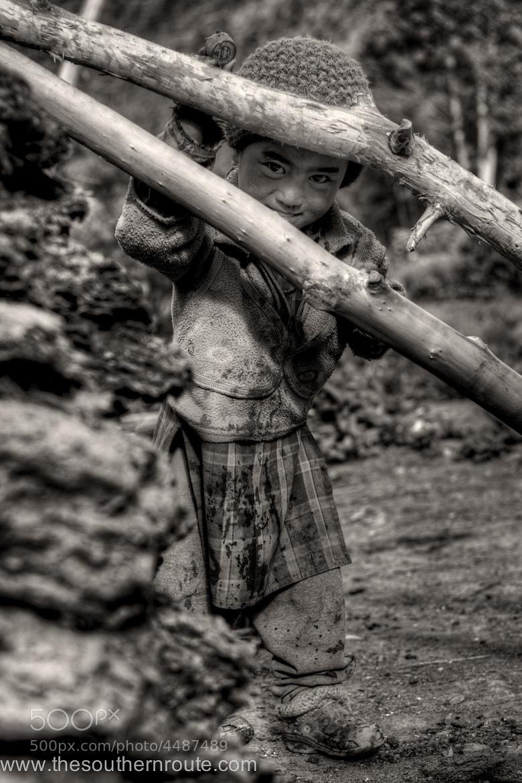 Photograph Little himalayan shepherd by regis boileau on 500px