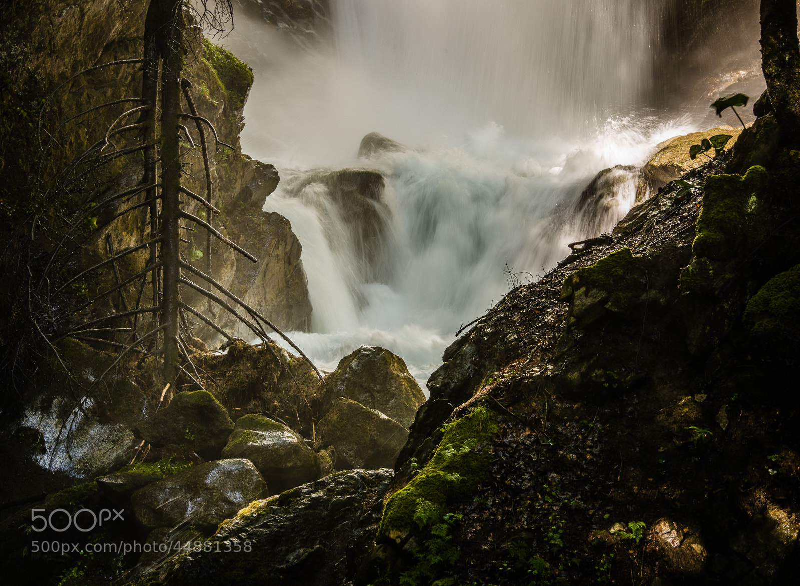 Photograph Waterfall in the Pyrenees by Hans Kruse on 500px