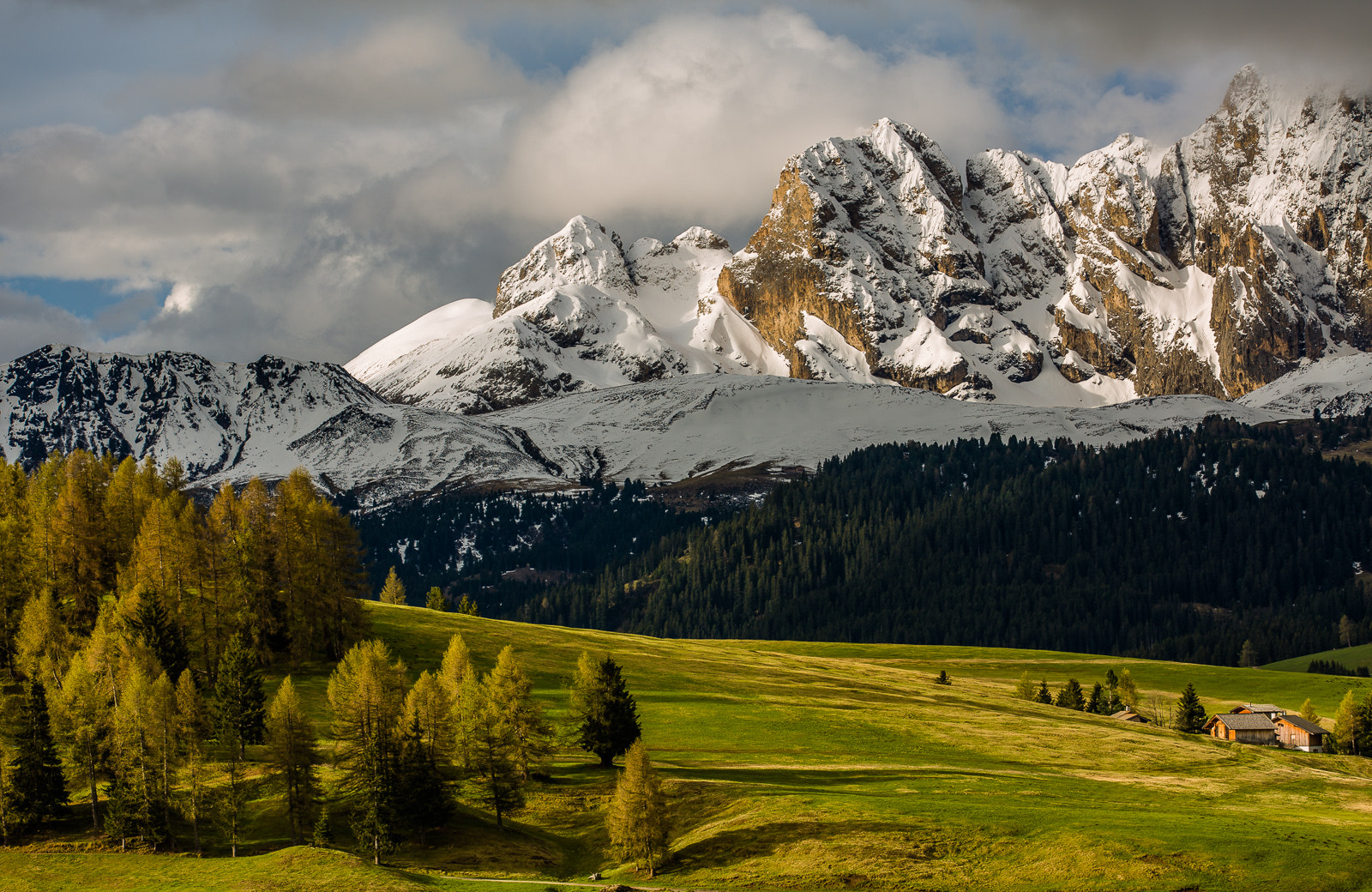 Photograph Morning light in the mountains by Hans Kruse on 500px