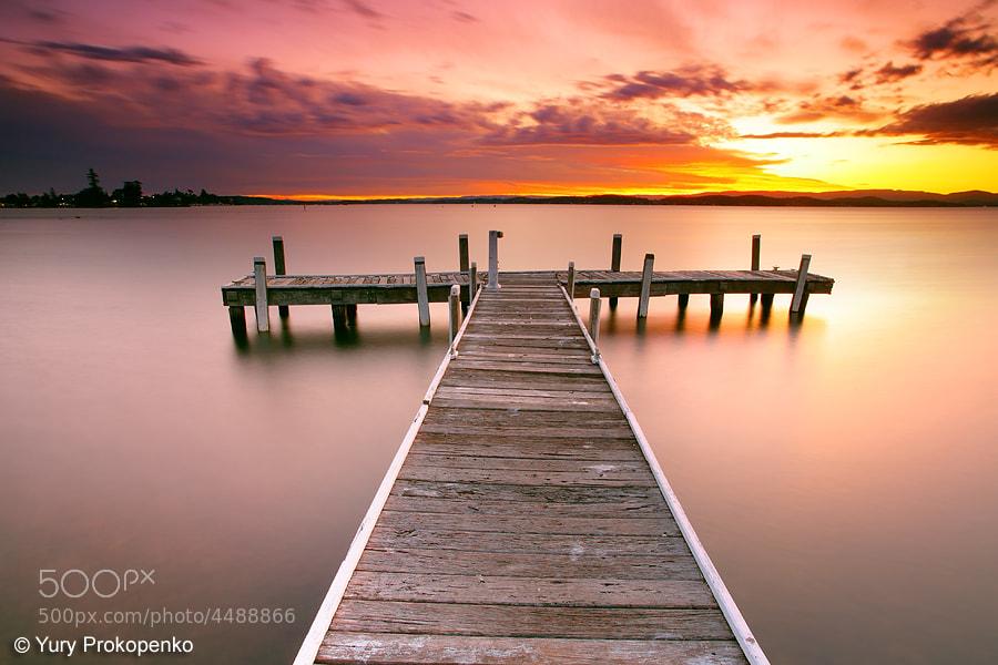 Photograph Sunset @ Lake Macquarie by Yury Prokopenko on 500px