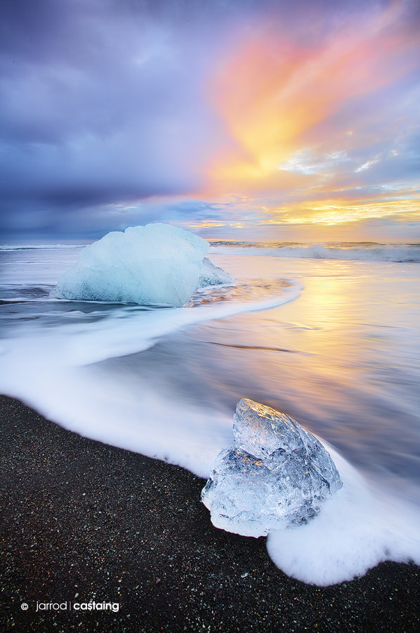 Photograph Blue Ice by Jarrod Castaing on 500px