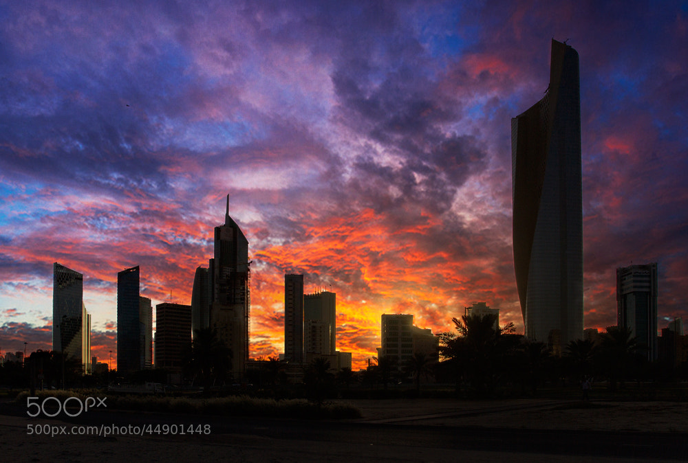 Photograph Kuwait With Burning Skies by bader Al Hattab on 500px