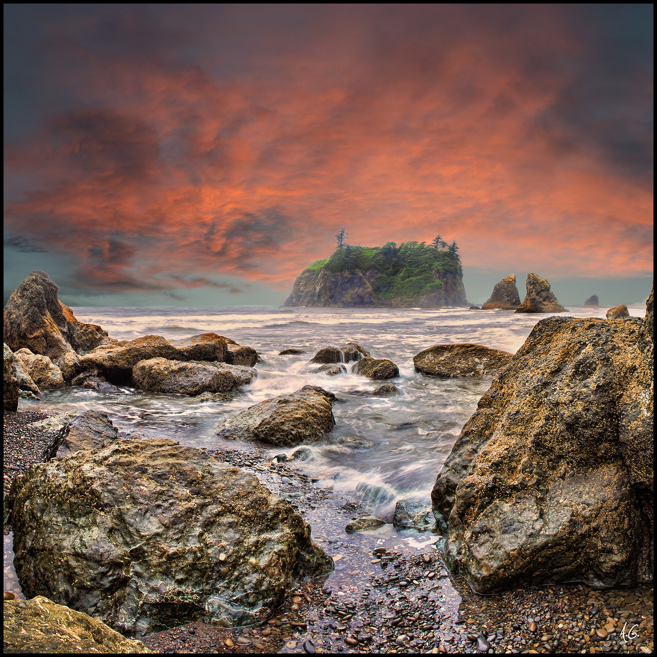 Photograph Ruby Beach by Alex Gubski on 500px