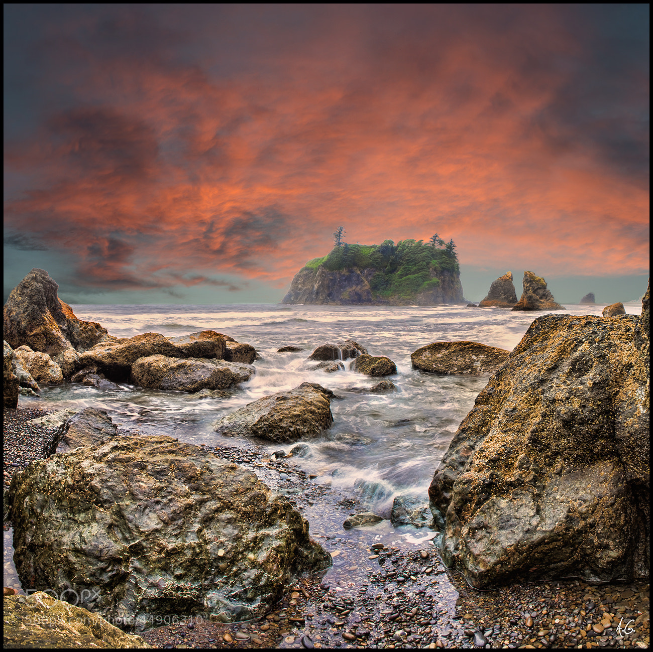 Photograph Ruby Beach by Alex Gubski on 500px