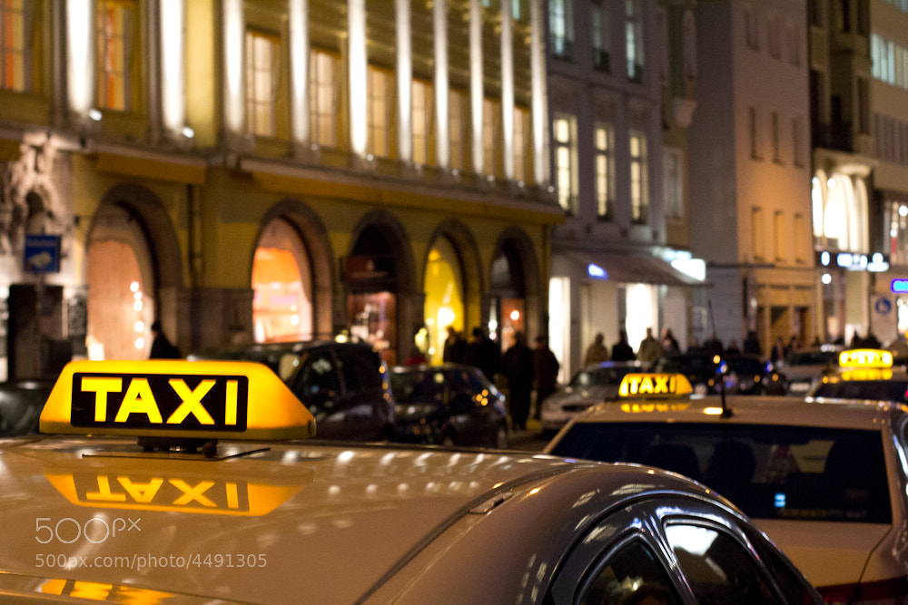 Photograph taxi in munich by J Bick on 500px