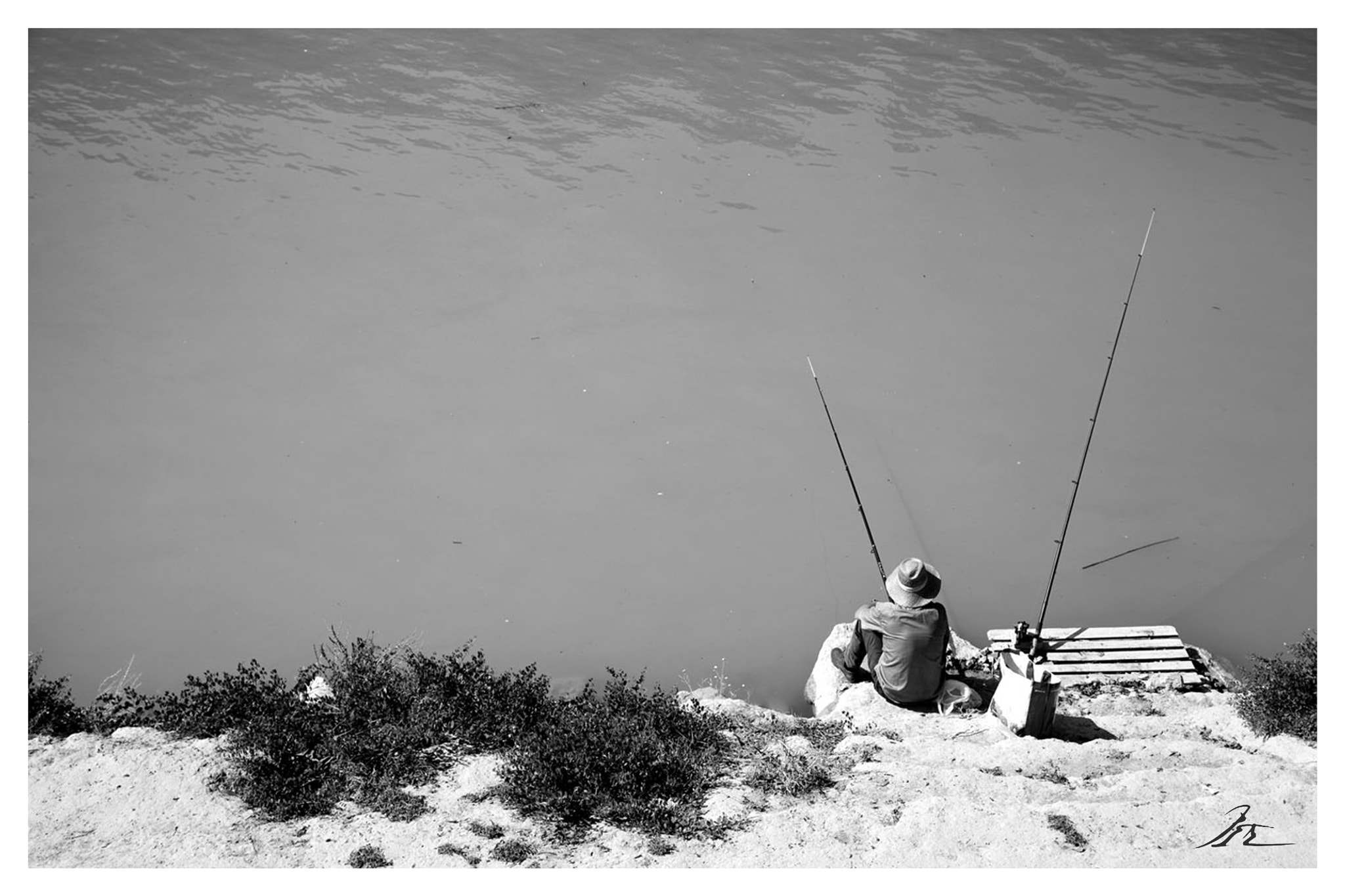 Photograph Monochrome fishing by Francisco Javier Martínez Medrano on 500px