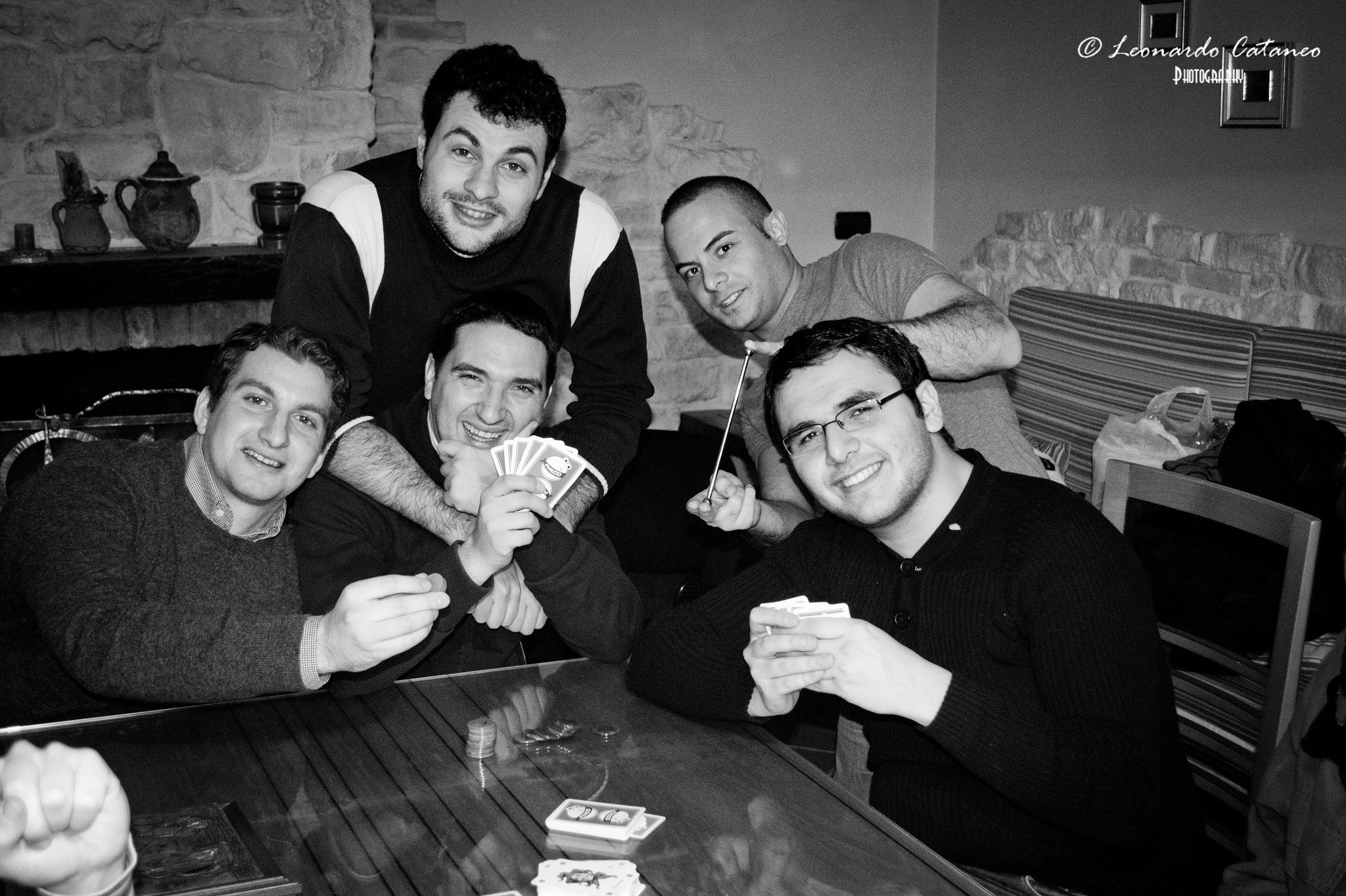 Photograph poker with friends by Leonardo Cataneo on 500px