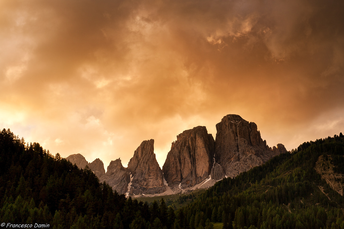 Photograph Golden sunset by Francesco Damin on 500px