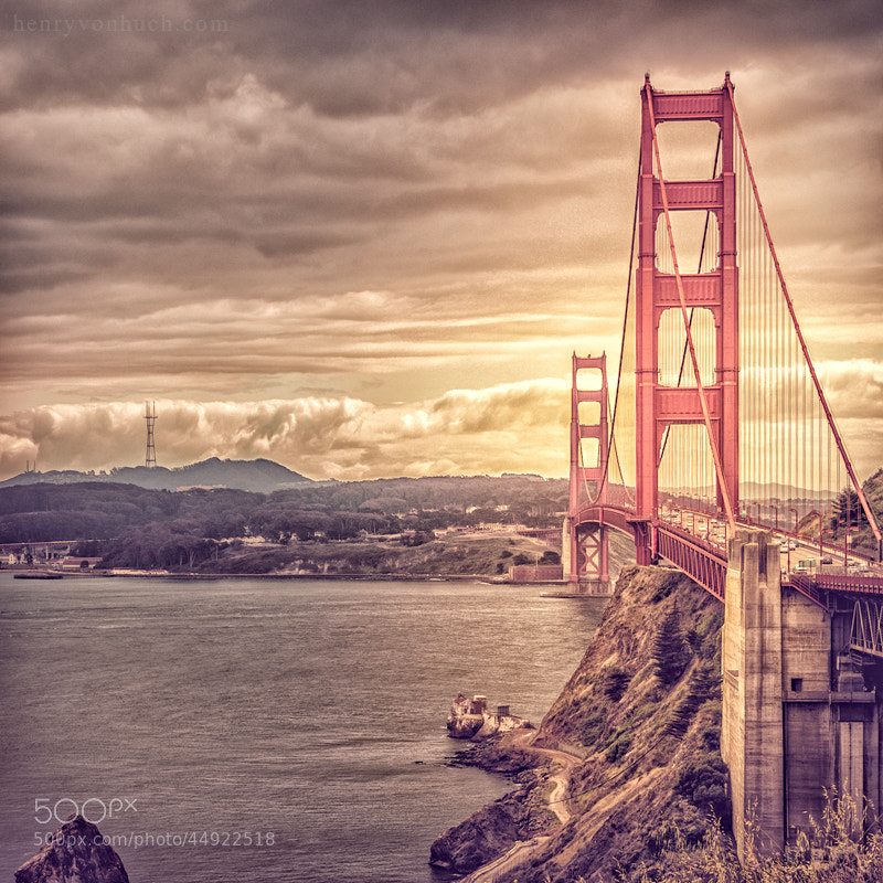 Photograph golden golden gate  by Henry von Huch on 500px