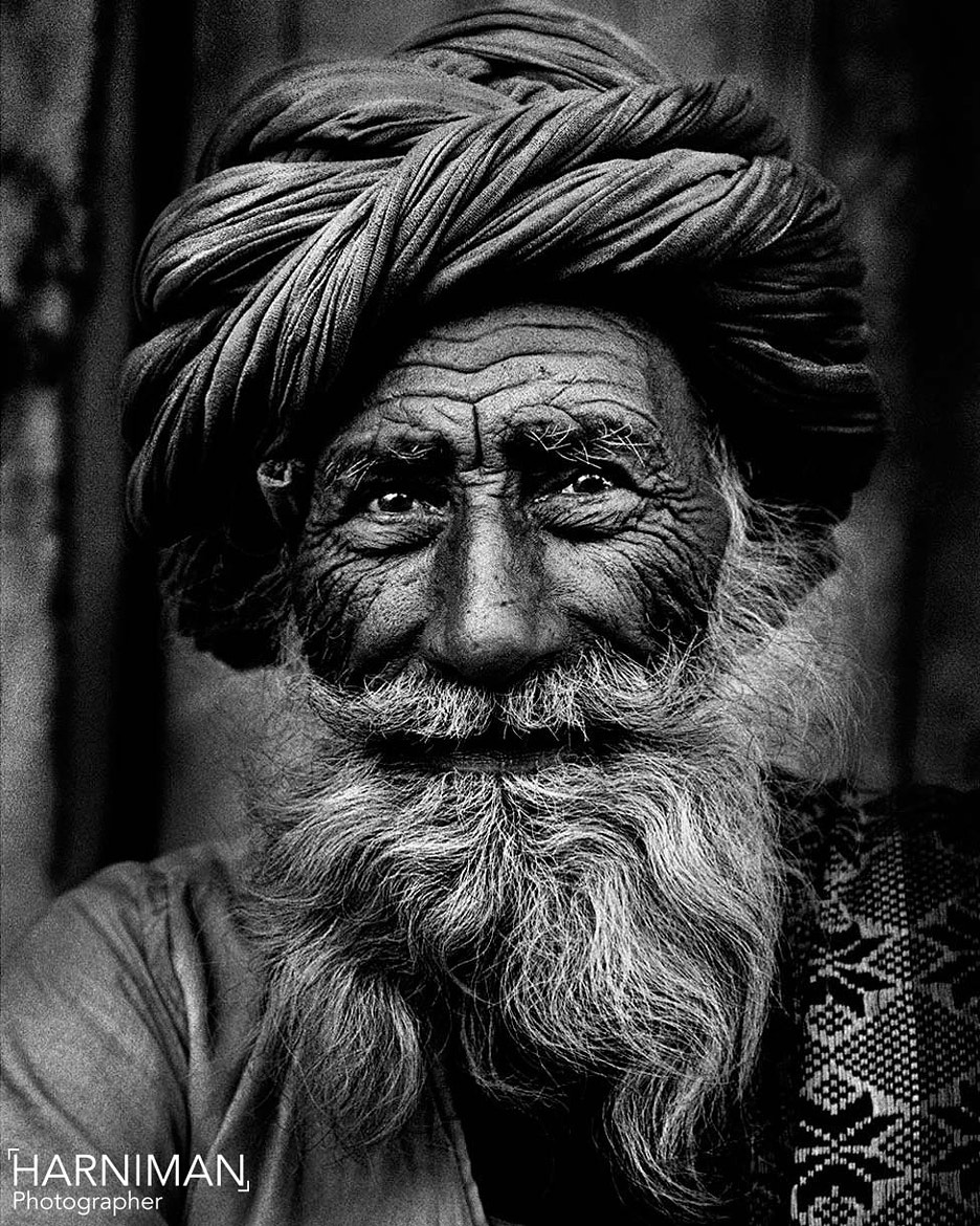 Photograph Rajasthan old man portrait by Nigel Harniman on 500px