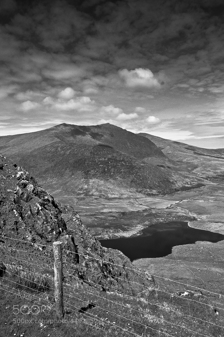 Photograph Mountain Tarn from Conor Pass by Fergal Kearney on 500px