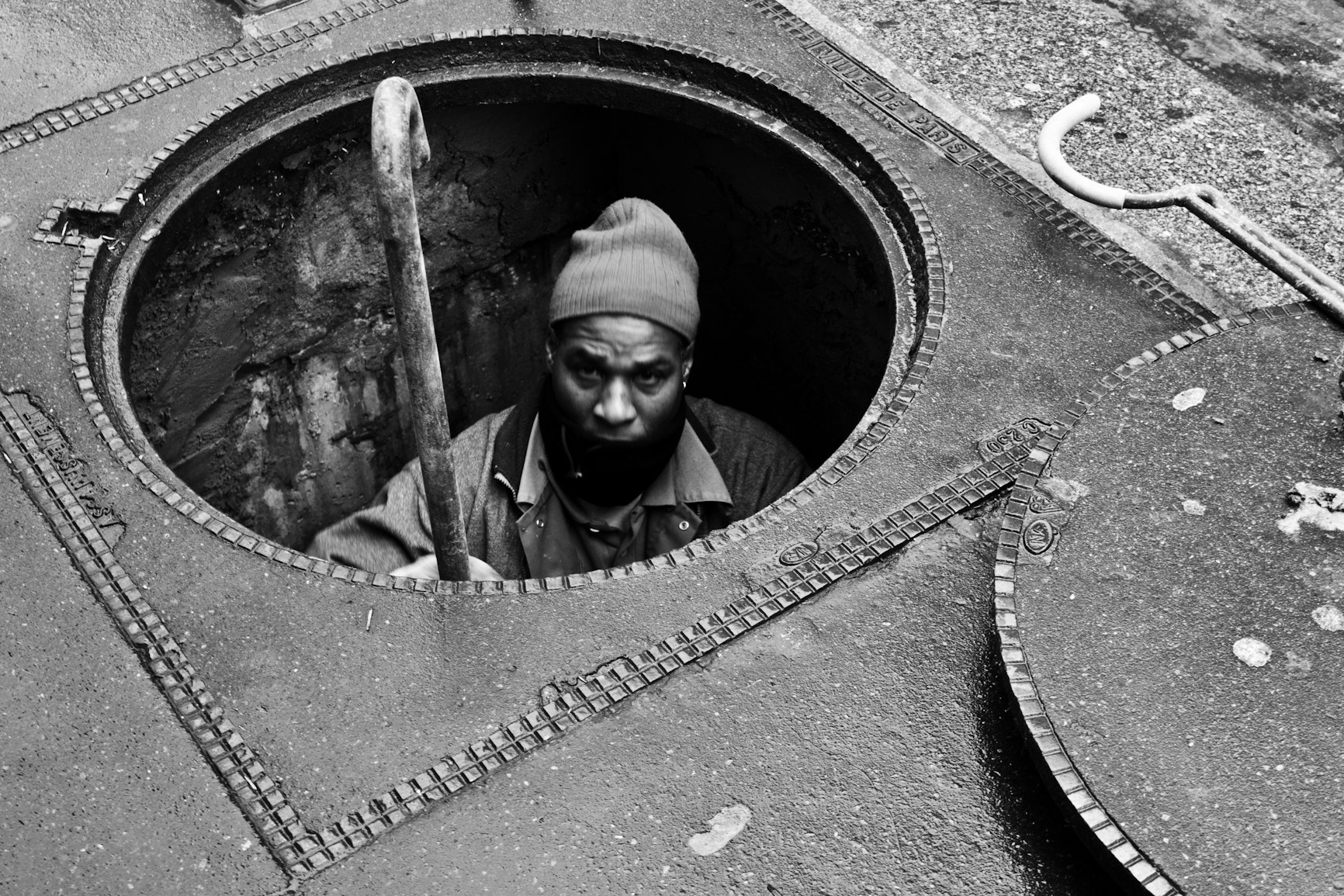 Photograph Sewage worker by David Rousselle on 500px