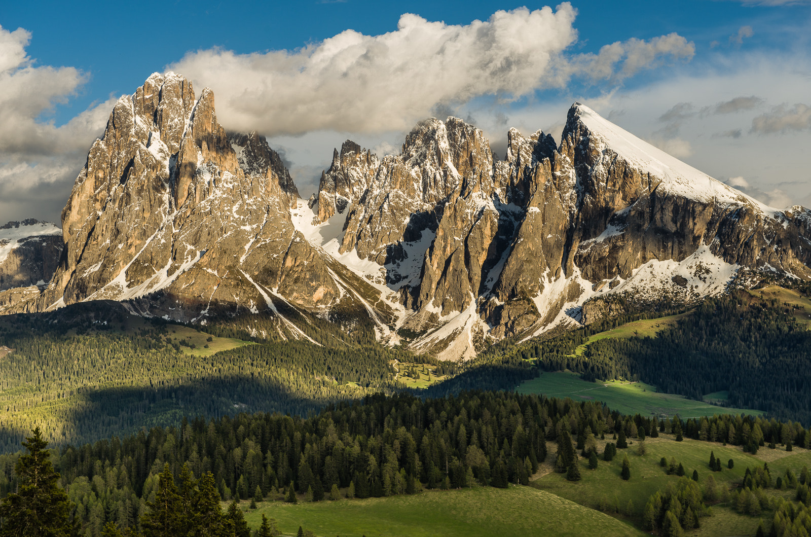 Photograph Majestic mountains in the light by Hans Kruse on 500px