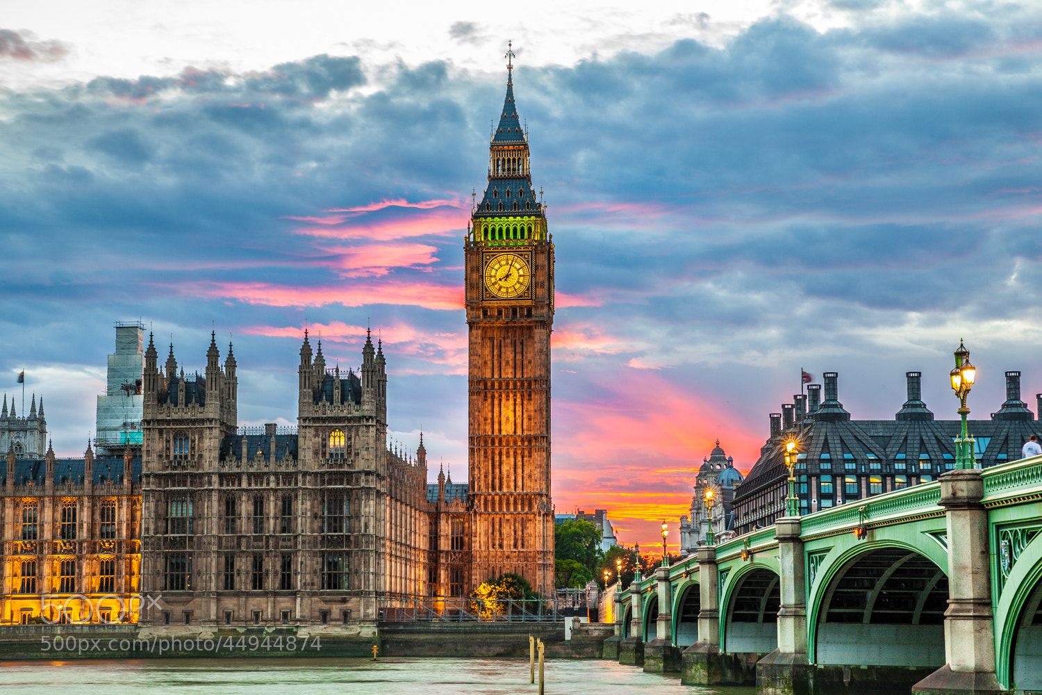 Photograph sunset in london by Arturas Kerdokas on 500px