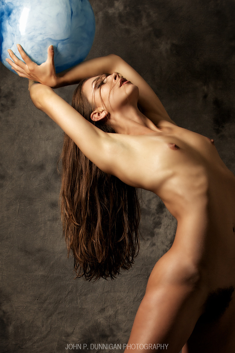 Photograph melissa with sphere by John Dunnigan on 500px
