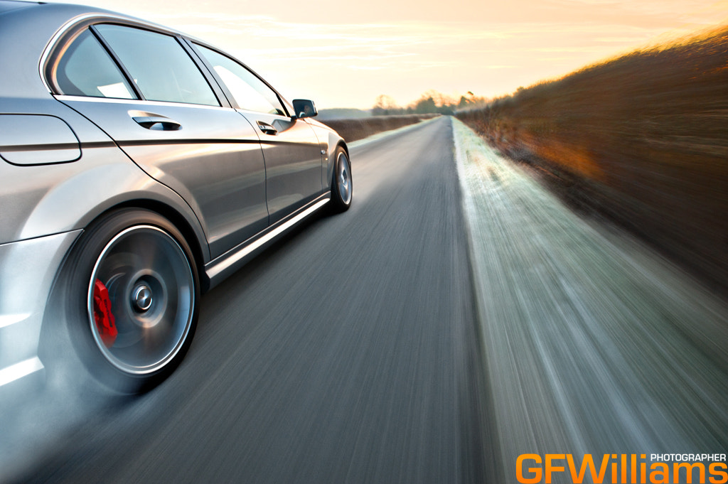 Photograph Mercedes C63AMG by George Williams on 500px