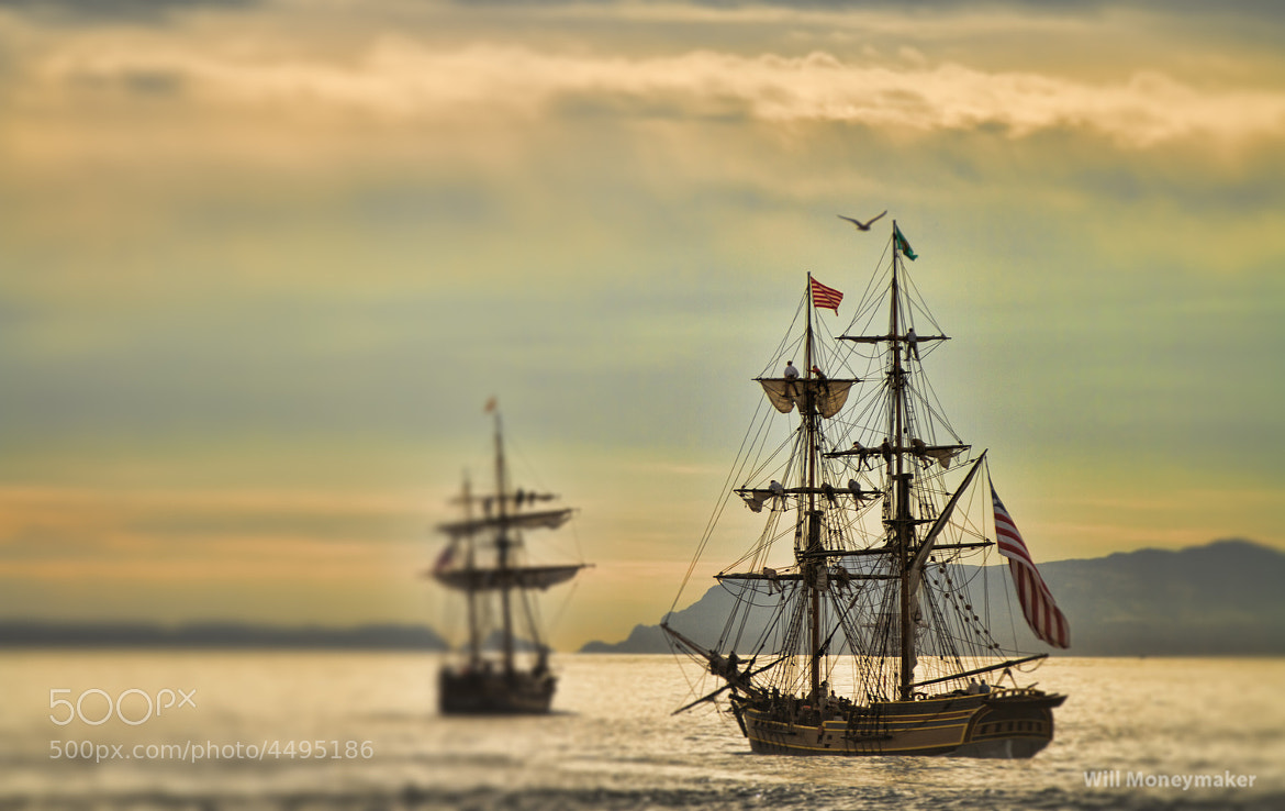 Photograph Lady Washington and Hawaiian Chieftain by Will Moneymaker on 500px