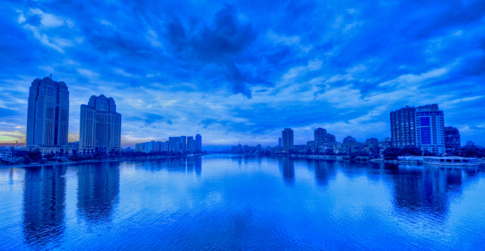Photograph Morning Blue Cairo by Abdullah Rhwanjy on 500px