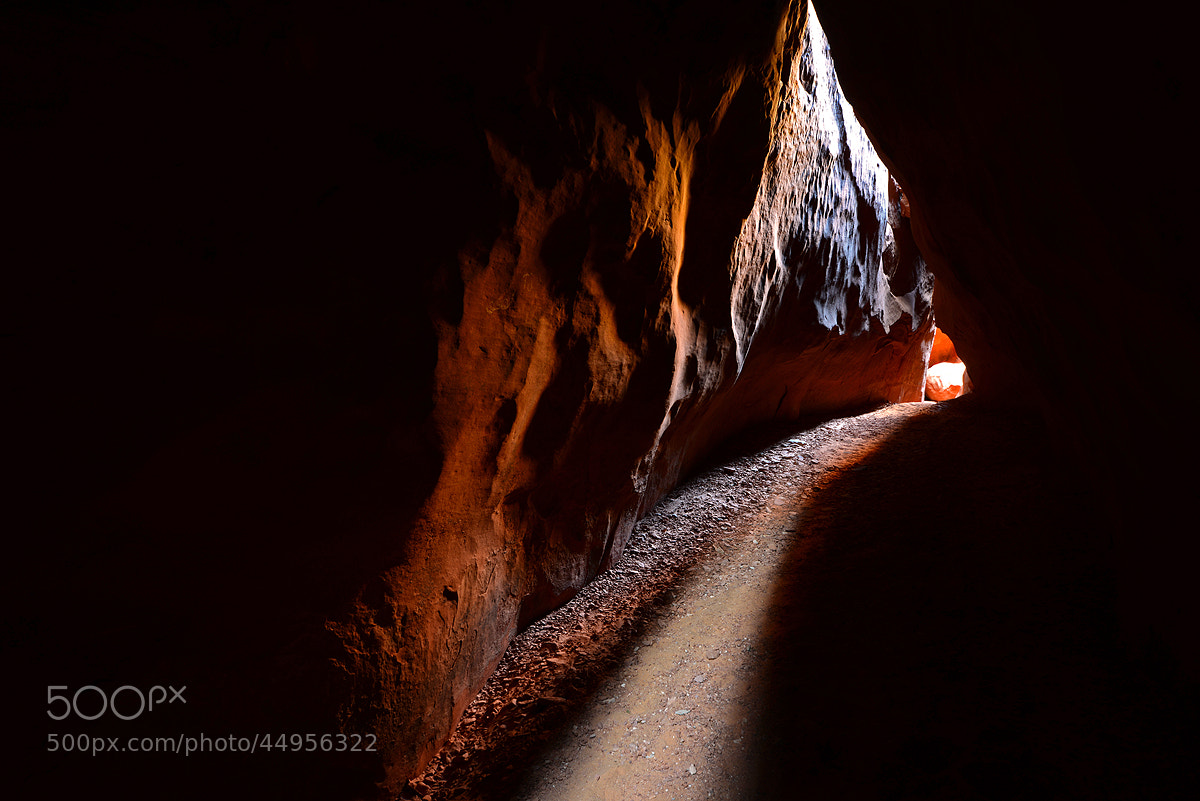 Photograph Light in the Tunnel by Michael Hubrich on 500px