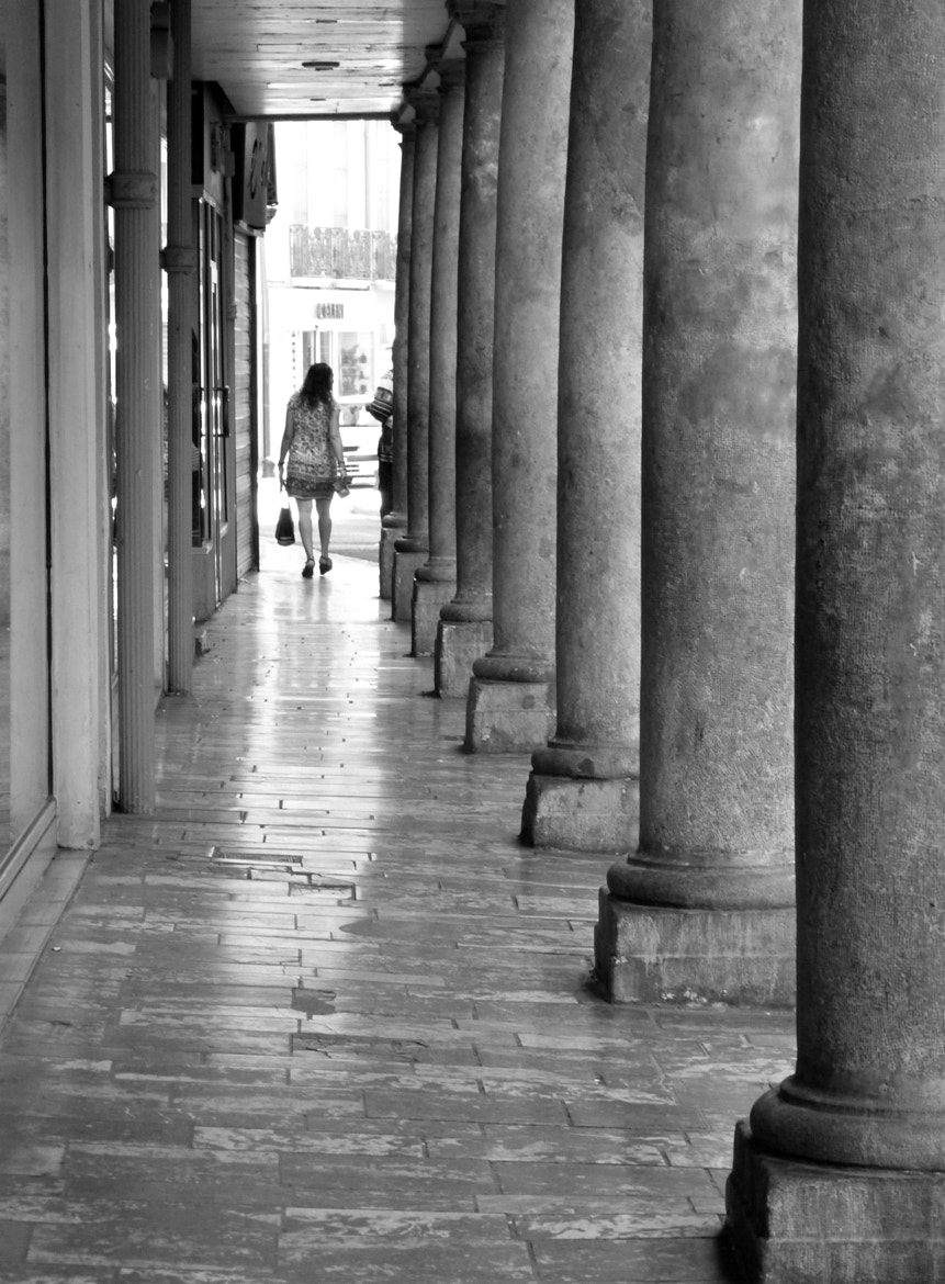 Photograph through columns by Florence Guichard on 500px