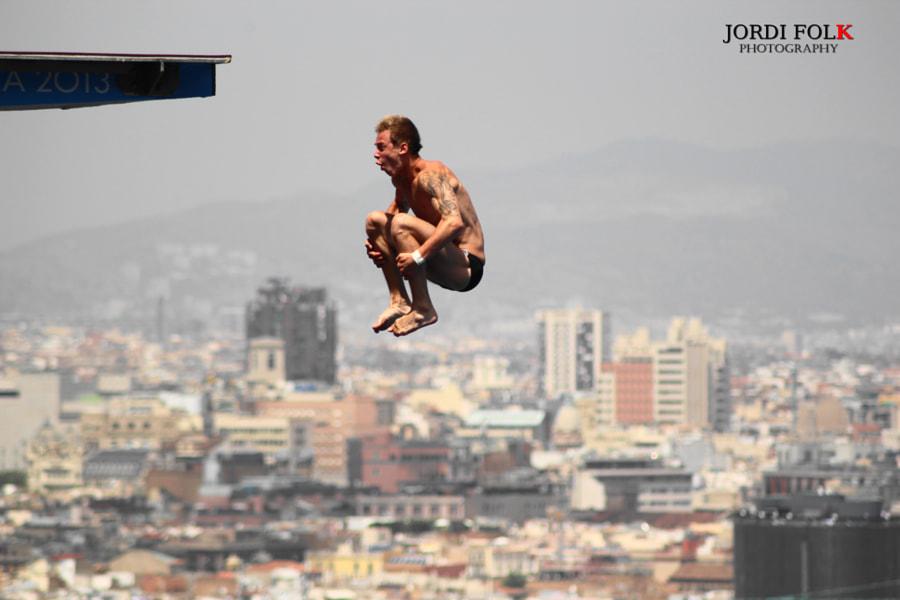 Diving in Barcelona