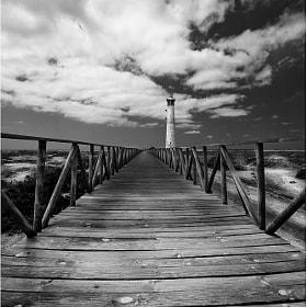 Jandia lighthouse por Torsten Hufsky