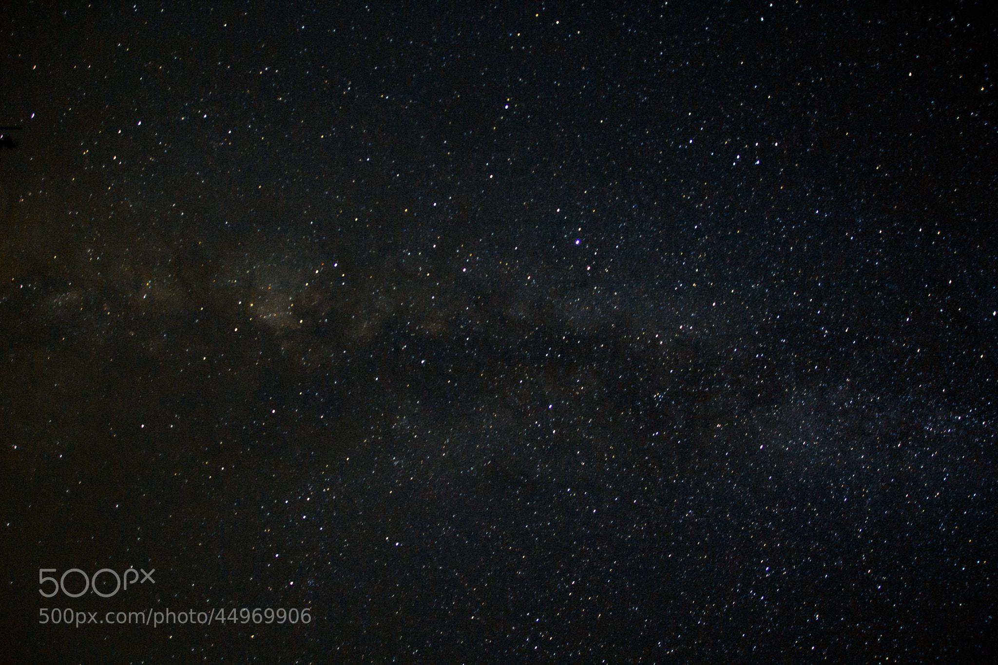 Photograph milky way landscape by David Díaz on 500px