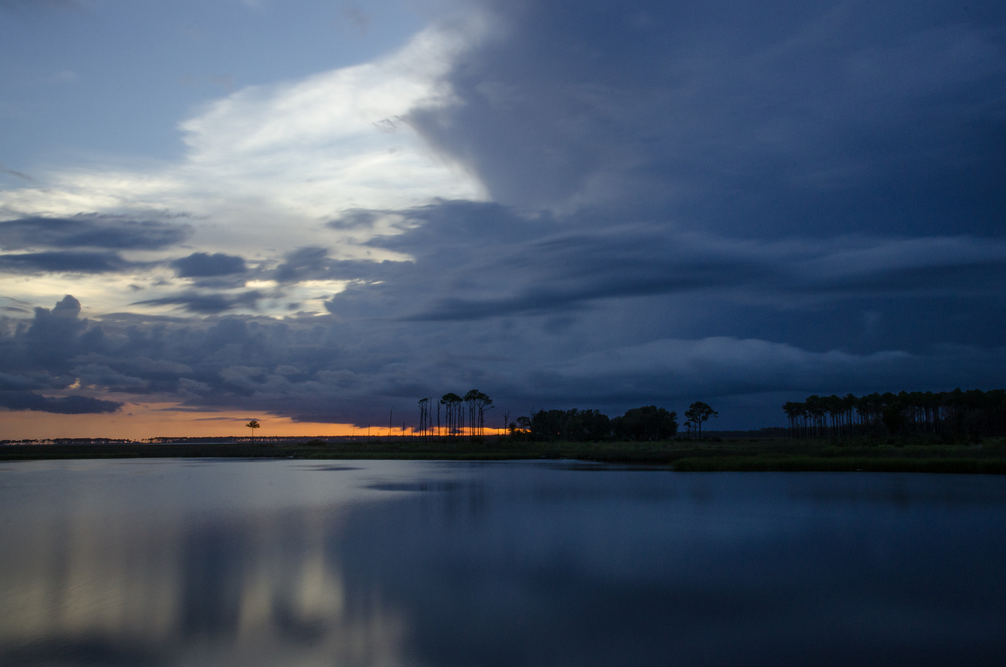 Photograph Storm on the Bayou by Richard Dollison on 500px