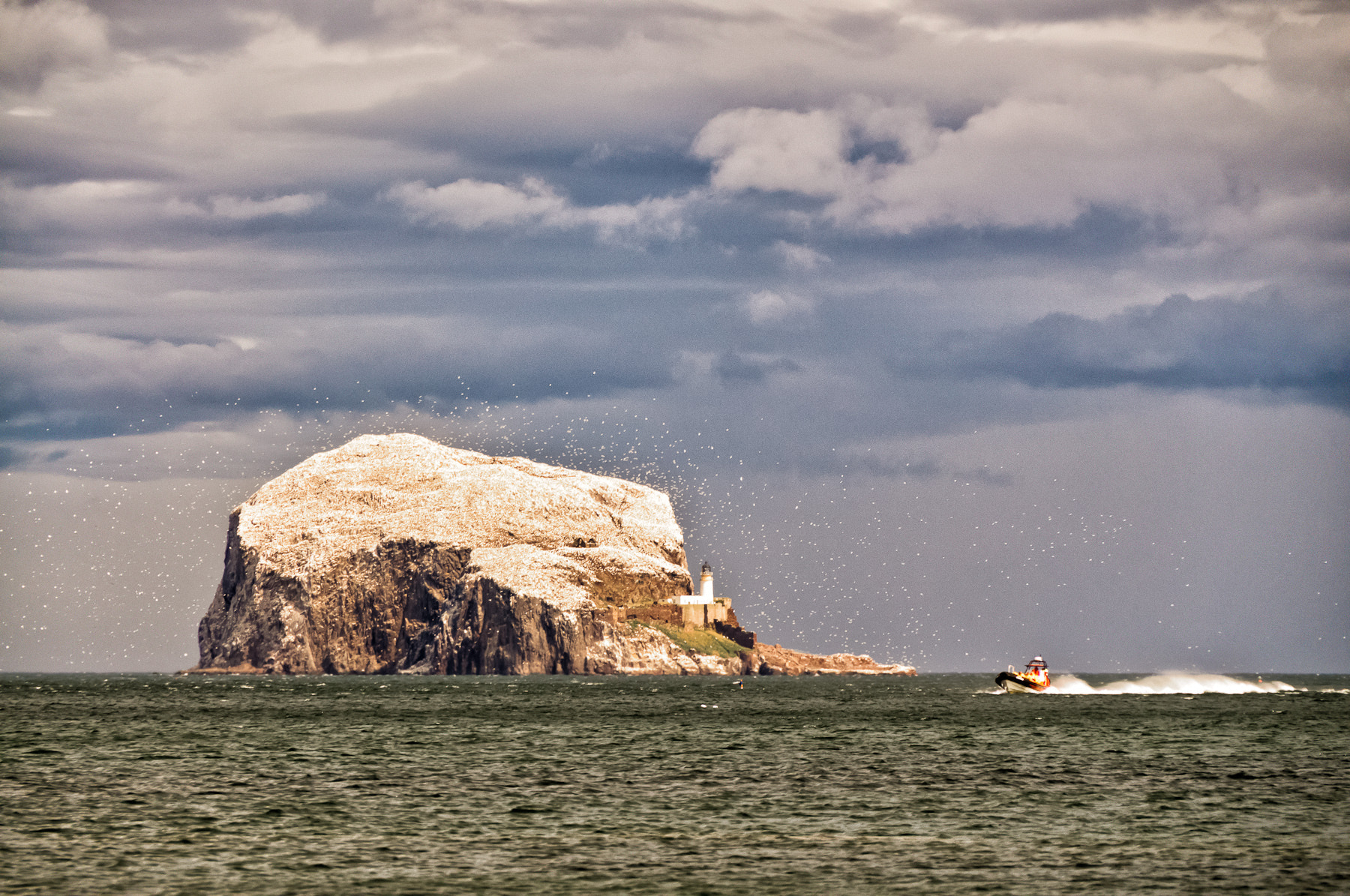 Photograph Bass Rock by Ade Russell on 500px