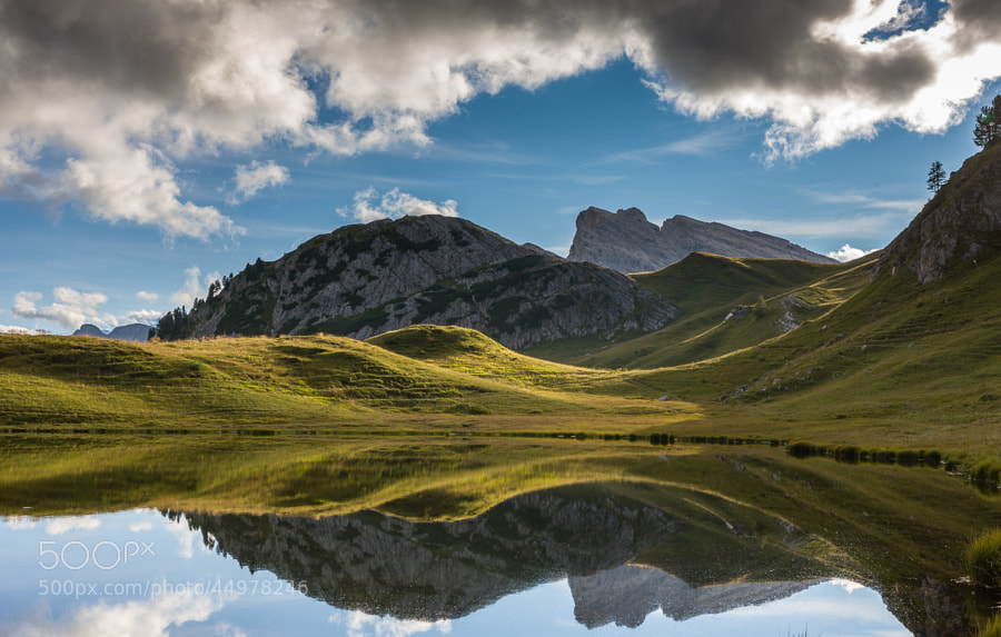 "<a href=""http://www.hanskrusephotography.com/Workshops/Dolomites-September-22-26-2014/n-xDBrz/i-FZnCFLr/A"">See a larger version here</a>  This photo was taken during a trip to the Eastern part of the the Dolomites September 2011 to prepare photo workshops in this area."